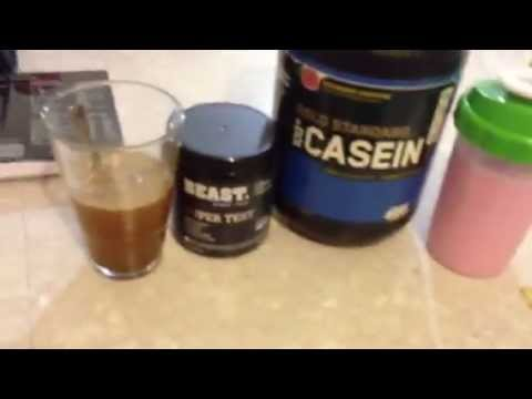 Pre bed supplementation on non training for Fish oil weight lifting