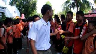 Graduation Day 2010 - Saimoonwittaya School - part 1