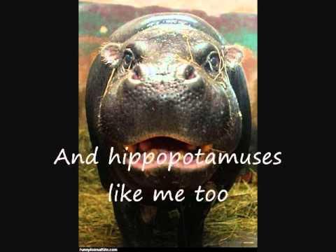 I Want A Hippopotamus For Christmas - Lyrics