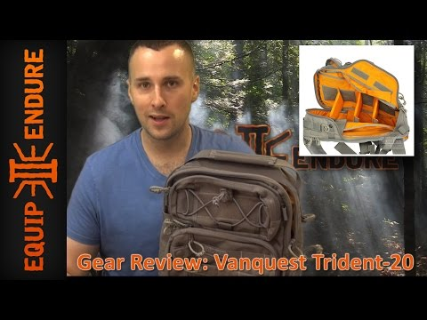 Vanquest Gear Trident-20 Backpack Review by Equip 2 Endure