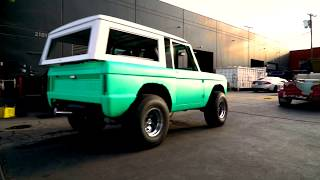 Ethan Dolan Builds Grayson Dolan Dream Car! - Bronco by West Coast Customs