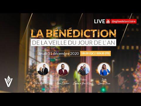 La bénédiction de la veille du jour de l'An | 31 décembre 2020 | 18h30 (QC) / 00H30 (FR)