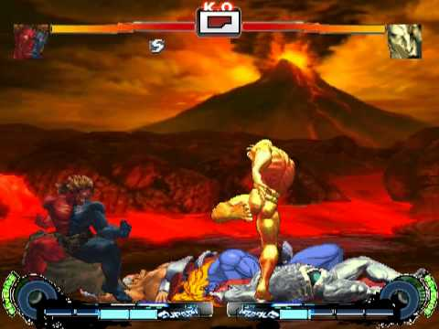 Mugen Super Street Fighter IV Turbo Arcade Edition Deluxe Demo