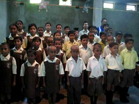 Jana Gana Indian National Anthem By Lord Jesus Ministry's Youth Choir Kolkata, India video