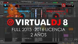 Virtual Dj FULL, CRACK,COMO QUITAR LOGO VIRTUAL DJ 8 2015-2016
