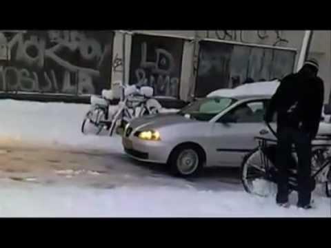 Всех автомобилистов с зимой