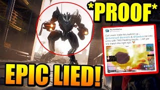 Epic Games Caught Lying AGAIN.. Time To Nerf The BRUTE!