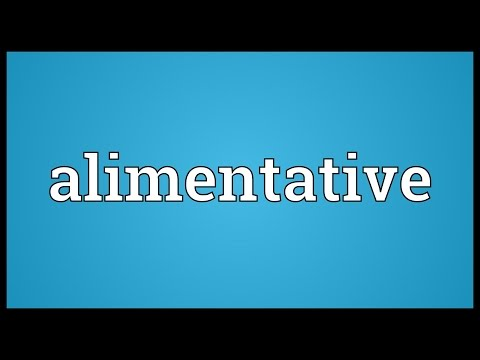 Header of alimentative