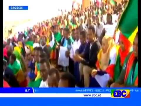 EBC Ethiopian Somali Region residents held a peaceful demonstration in the city of Jimma.
