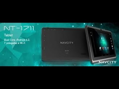 Unboxing Review Tablet Navcity NT-1711 (Android 4.2.2)