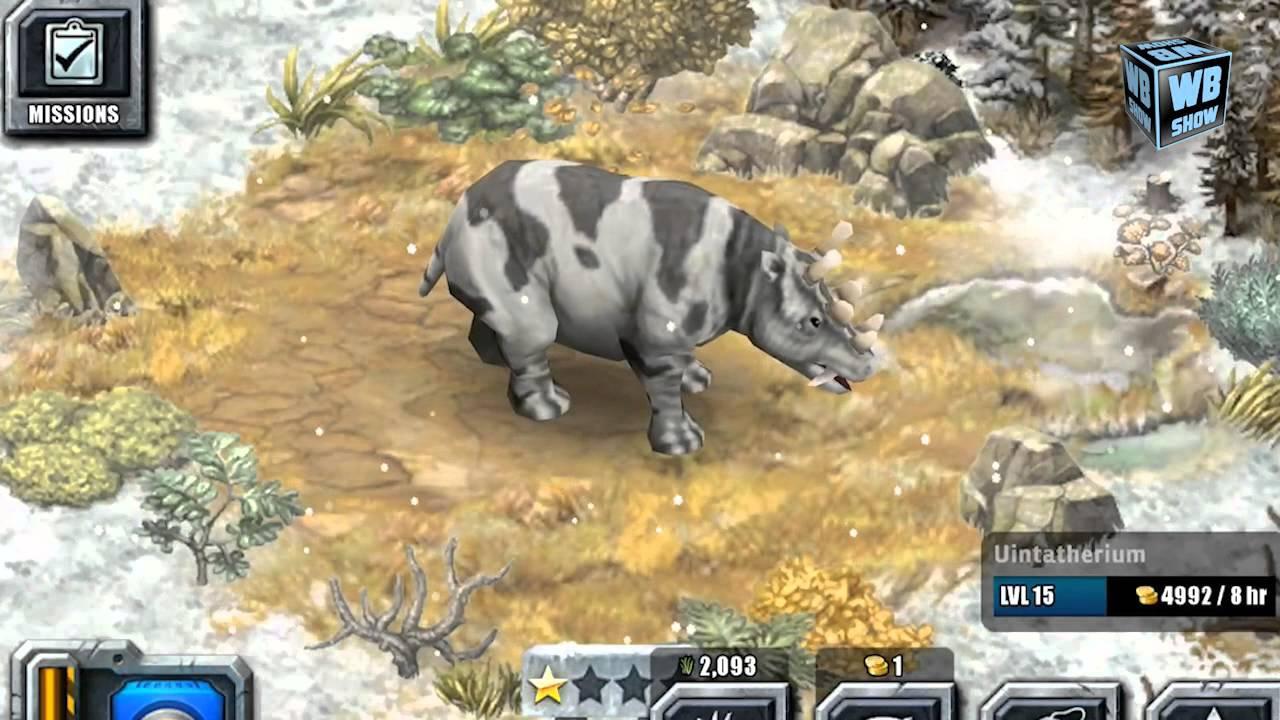 Jurassic Park Builder - Uintatherium [Glacier Park ...