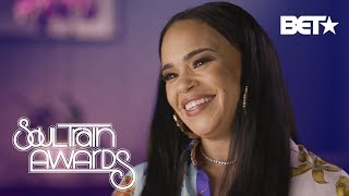 21 Questions w/ Faith Evans (+How Stevie J is the Perfect Husband) | Soul Train Awards 2018