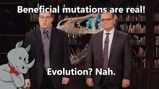 Beneficial Mutations? Yes! Evolution? Nope!