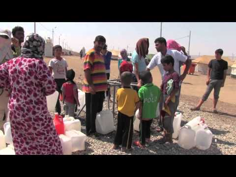 NRCs Rapid Responce Team in Kawergosk refugee camp, Iraq