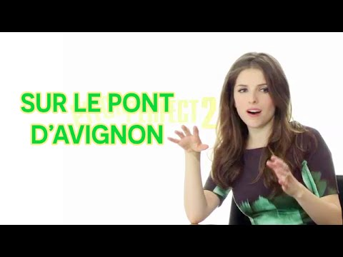 Anna Kendrick can sing a French song