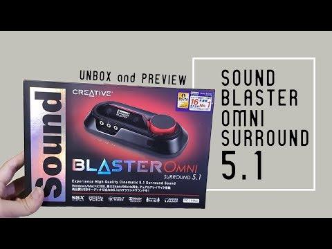 แกะกล่องพรีวิว | Creative Sound Blaster Omni surround 5.1