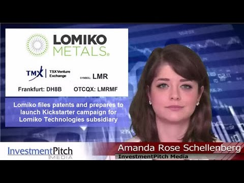 Lomiko Metals (TSCV: LMR) to launch Kickstarter campaign for Lomiko Technologies subsidiary