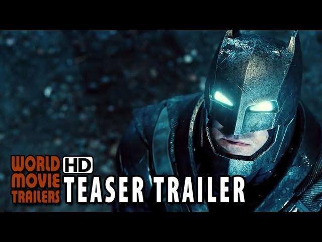 Batman v Superman: Dawn of Justice Teaser Trailer (2016) - Henry Cavill, Ben Affleck HD