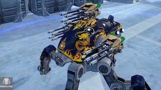 NEW Pulser Energy Weapon | Test Server 4.0 | War Robots