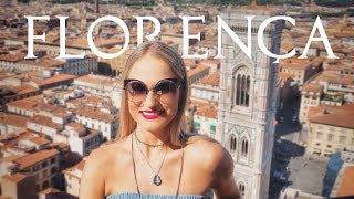 Duomo de Florença, Uffizi, Davi de Michelangelo - vlog de viagem na Italia