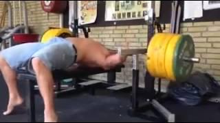 levantamiento de pesas fallido
