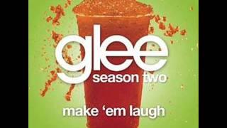 Watch Glee Cast Make em Laugh video