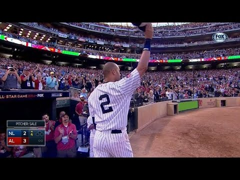 Derek Jeter gets two hits in final All-Star Game in 2014