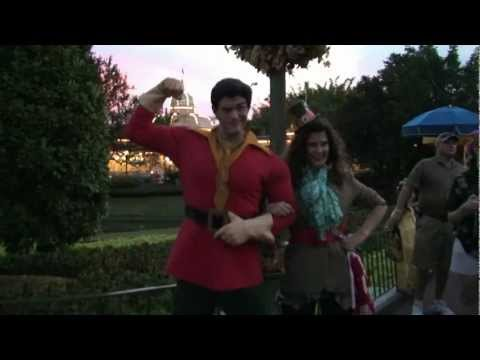 Gaston From Beauty And The Beast At The Magic Kingdom, Walt Disney World video