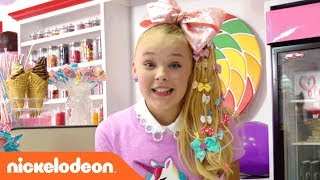 JoJo Siwa | BTS on the 'Kid in a Candy Store' Official Music | Nick