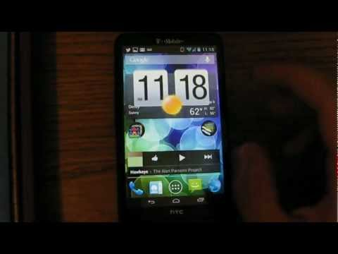 Android 4.1 Jelly Bean on an HTC HD2