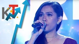 TNT All Star Grand Resbak Round 2 Lalaine Arana sings 'And I Am Telling You  I'm Not Going''