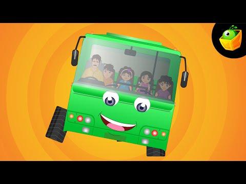 Sadak Bani Hai Lambi Chaudi - Hindi Animated cartoon Nursery Rhymes For Kids video