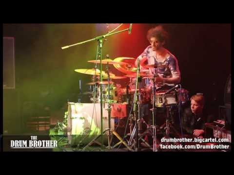 Jojo Mayer performing at the Frankfurt Messe 2012 - the DrumBrother