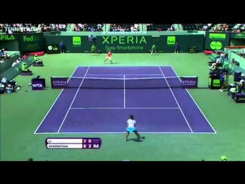 Sharapova vs Li Na - Miami 2012 - Highlights