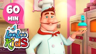 Pat-a-Cake - Educational Songs for Children   LooLoo Kids