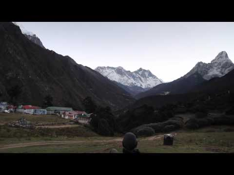 Sunrise over Mt. Everest on my 40th birthday - Tengboche, Nepal