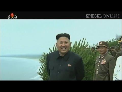 Kim Jong Un inspiziert Manöver: Nordkoreas bildgewaltige Botschaft an Südkorea