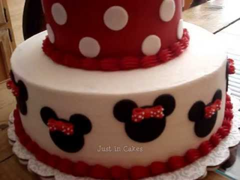 Minnie Mouse Cake Youtube