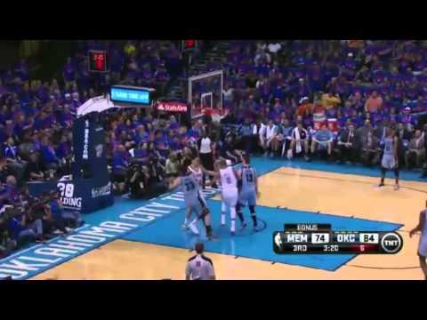 Oklahoma City Thunder Vs Memphis Grizzles Game 7 Highlights NBA Playoffs 2014