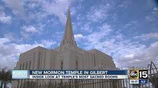 New Mormon temple in Gilbert