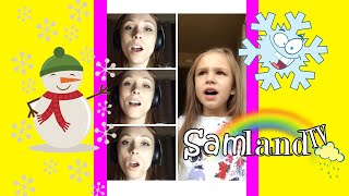 "LITTLE SNOWFLAKE | Sammi Sings ""Little Snowflake"" Acapella"