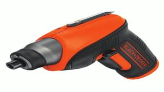 BLACK DECKER BDCS20C 4 Volt MAX Lithium Ion Cordless Rechargeable Screwdriv