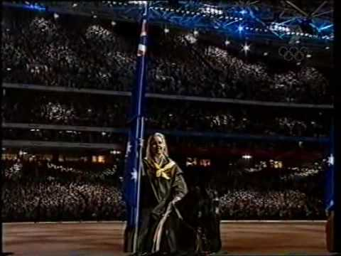 Sydney Olympics - Australian National Anthem