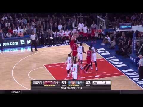 Chicago Bulls vs New York Knicks Full Highlights - 2014 NBA Season
