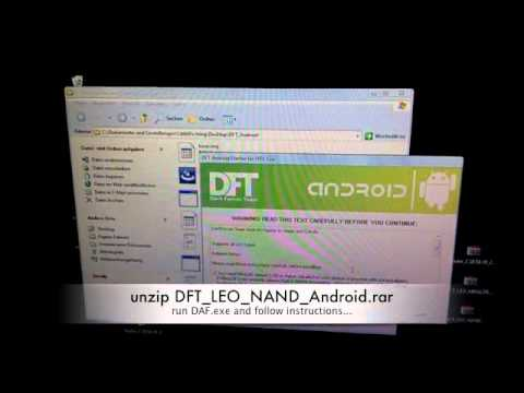 install nand android on hd2