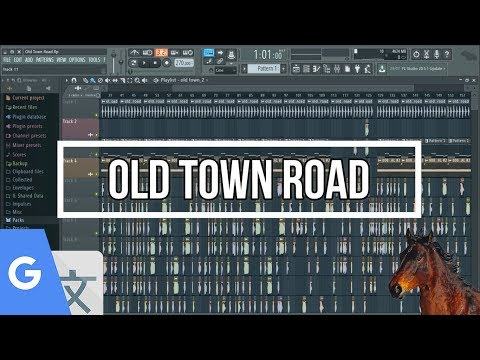 OLD TOWN ROAD but on Google Translate and Chrome Music Lab!