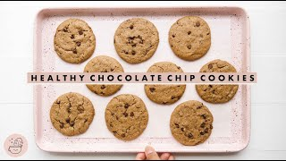 Best Healthy Chocolate Chip Cookies EVER!
