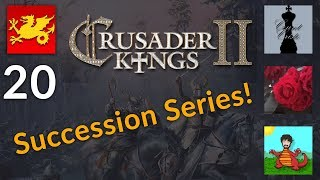 CK2 Holy Fury Succession Series w/ Cristo, Aldra and Rose! [20]