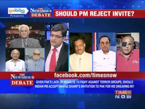 The Newshour Debate: Should PM Manmohan Singh reject Nawaz Sharif's invite? (Part 3 of 3)
