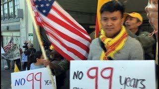 Biểu tình chống dự luật Đặc Khu Kinh Tế trước Tổng Lãnh Sự CSVN tại San Francisco (P-2)